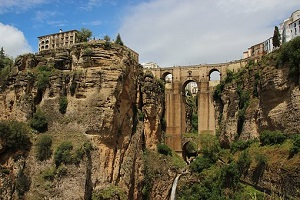 ronda mountainside