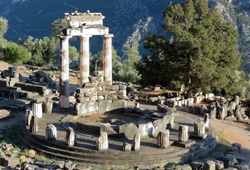 greece delphi unesco sanctuary of athena pronea
