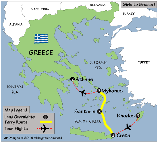 girls to greece map 2015